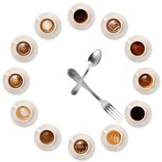orologio caff