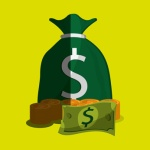 Money icon design , vector illustration