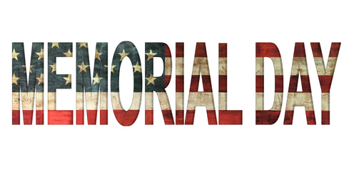 memorial day vintage american flag