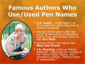 pen names two