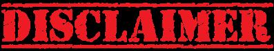 Disclaimer-Stamp