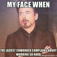 laziest co worker