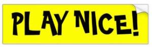 play_nice_bumper_sticker-r4a62e2ced9e54a22a48163b24d66e051_v9wht_8byvr_324