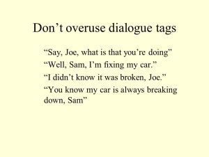 dialogue-tags