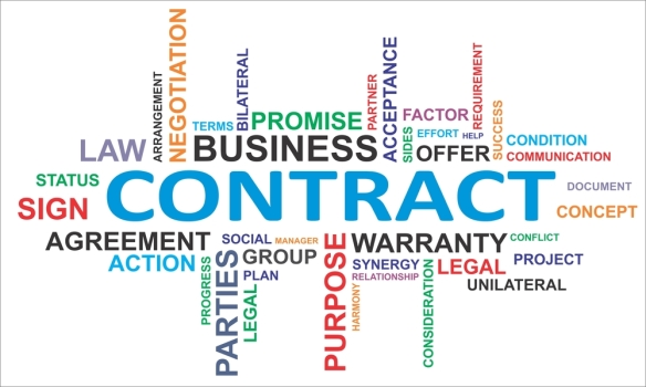contract-with-business-words